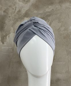 Light Grey Knotted Turban